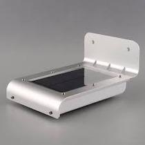 Luminária Parede Solar 24 Leds 36hrs De Luz Sensor Movimento