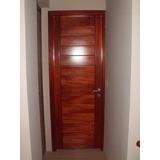 puertas de madera exterior e interior