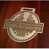 Medalla Metal Montan Bike Bici Correr Running Mtb 50 Mm