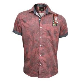Camisa Manga Corta Bross Flores 17