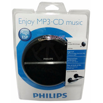 Disc Man / Discman Philips Com Mp3 - Produto Novo E Lacrado