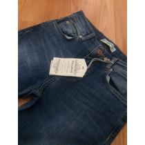 Jeans Pull And Bear Talla 24 Acampanados A La Cintura