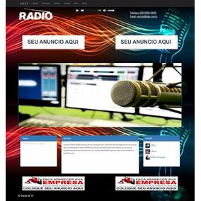 Script Php Responsivo Tv Online Webradio Radio Web Radio On