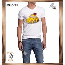 Playera Mexican Wolf Mod. 101 Vocho 2