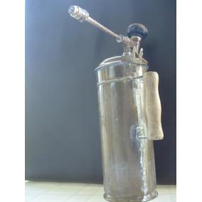 Fumigadora Antigua De Cobre Y Bronce, Marca La Atómica
