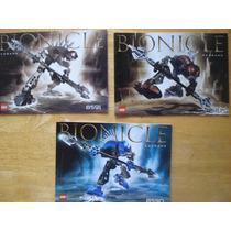3 Instructivos Para Armar Bionicles En 30.00 Por Los 3