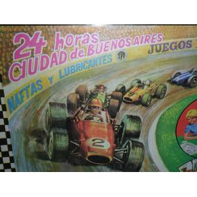 Juego Carrera F-1 Ypf Las 24 Hs Ciuda Bs As.fangio Retro Kxz