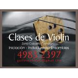 Clases De Violin Caballito Almagro