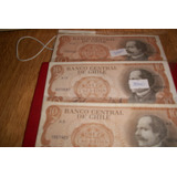 Billete Chileno 10 Escudos