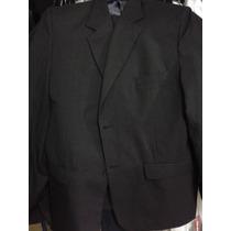 Ambo Negro Tela Alpaca (saco+pantalòn)// Oferta
