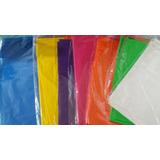 Manteles Descartables Polietileno De Color! Fiestas, Eventos