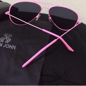 be1b0f087 Óculos Aviador Feminino Armação Rosa - Óculos De Sol no Mercado ...