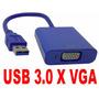 Cabo Adaptador Conversor Usb Para Vga Monitor Usb 3.0/2.0