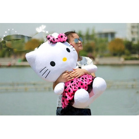 Hello Kitty Con Vestido Rosa Peluche 75 Cm Envio Gratis