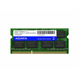 Adata Memoria Ram 4gb Sodimm Ddr3l 1600mhz Para Laptop