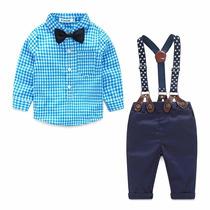 Ropa Infantil Para Niño Azul - Overol - Conjunto Niño