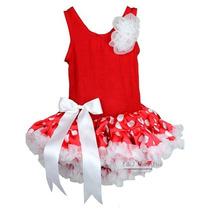 Vestido Vermelho Com Saia Rodada