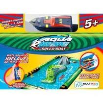 Aqua Racers Lancha E Pista Inflavel - Br207 Multikids