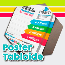 Millar Poster Tamaño Tabloide Doble Carta Impresion A Color