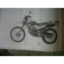 Yamaha Xt 225 Serow 1991manual Del Usuario Original !!!!!!!