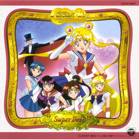 Cd Sailor Moon - Super Best - Trilha Sonora - Made In Japan!