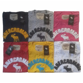 Camiseta Camisa Masculina Da Abercrombie De Qualidade 100 %
