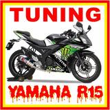 Kits Adhesivos Gráficos Para Motos Yamaha R15 Yzf
