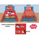 Cover Quilt Frazada Mickey Mouse Piñata Disney Plaza Y 1 1/2