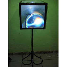 Abajur De Piso Artesanal Em Material Reciclado