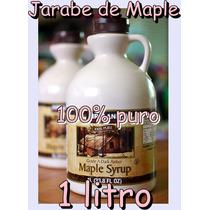 Jarabe De Maple Arce Puro De Canada Helado Waffle Hotcake