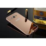 Capinha Samsung Celular Espelhada Galaxy On7 Alumínio
