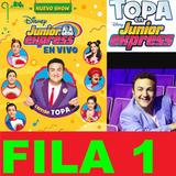 Entradas Topa Junior Express - Fila 1 2 3 - Calif. 100%