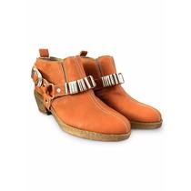 Zapato Botas Botitas Texanas Charrito Eco Cuero Envio Gratis