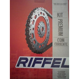 Kit De Transmicion Riffel Zanella Rx150 - Motomel Cg 125