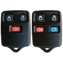Capa Chave Telecomando Alarme Original Ford 3 E 4 Botões
