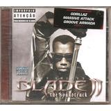 Cd - Blade 2 - Soundtrack- Gorillaz, Massive Attack- Lacrado