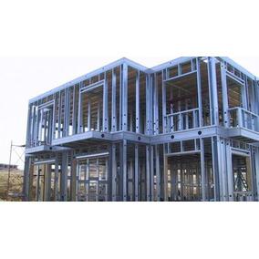 Casa Steel Frame Drywal Gesso Acartonado Estrutura Metálica