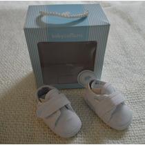 Escarpines Zapatos Bebé Talle 14 Baby Cottons Recien Nacido