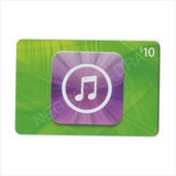 Código Tarjeta Itunes Gift Card Usa U$10 P/ Iphone Ipad Ipod