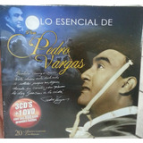 Lo Esencial De Don Pedro Vargas. 3 Cd´s + 1 Dvd. Nuevo