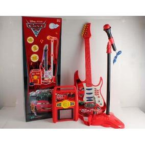 Kit Rock Star Carros2 Amplificador Guitarra Microfone