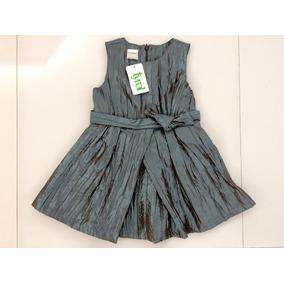 Lindo Vestido De Festa Infantil Verde! Tamanho 3! Tyrol Novo