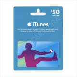 Código Tarjeta Itunes Gift Card Usa 50 Para Iphone Ipad Ipod