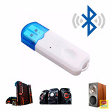 Receptor Adaptador Bluetooth Usb Transmissor Wireless Carro