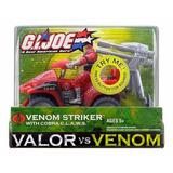 Gi Joe Valor Vs Venom Striker With Cobra C.l.a.w.s Importado