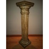 Columnas De Yeso Doricas 80 Cm Patinadas Estilo Antiguo