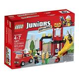 Lego Juniors Fuego Emergencia Edificio Ubicado