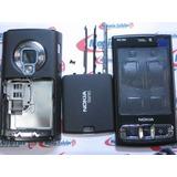 Carcaça + Display Lcd Nokia N95 8gb Black Completa