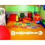 Vinilo Decorativo/juego Para Piso, Rayuela 60x182 Color L