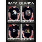 Remeras Rata Blanca Rock Nacional Estampado Digital Stamp
